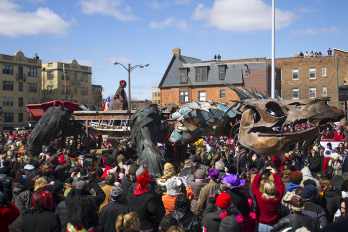 Photos: Costumed revelers chase away evil Nain Rouge in Detroit Sunday