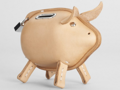 Obviously, this $190 leather piggy bank has already sold out.