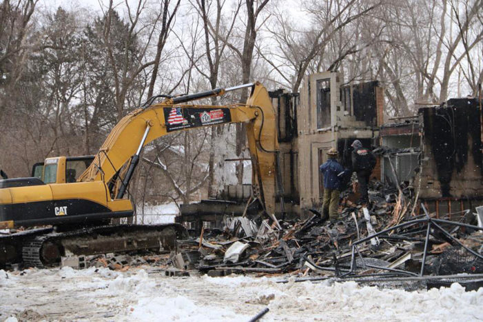 Arson suspected in Detroit apartment blaze as officials search for bodies