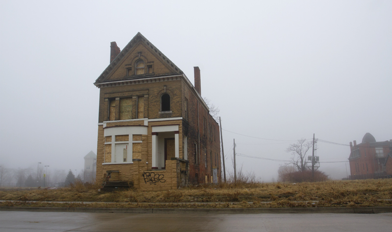 "312 Watson, Brush Park,  was the setting for a drug house on the AMC show, ""Low Winter Sun."" Also was a hospital."