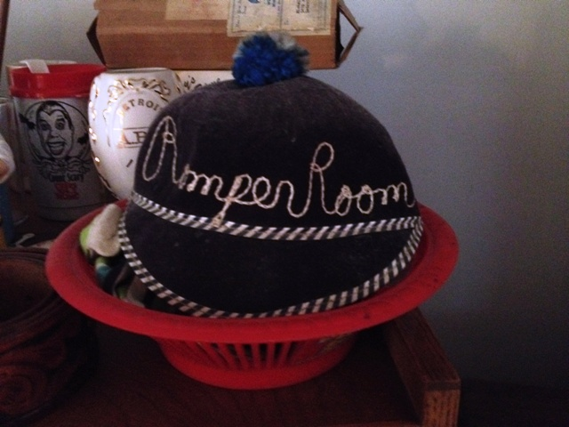 "If you were a baby boomer, then you would've wanted a ""Romper Room"" beanie like this one."
