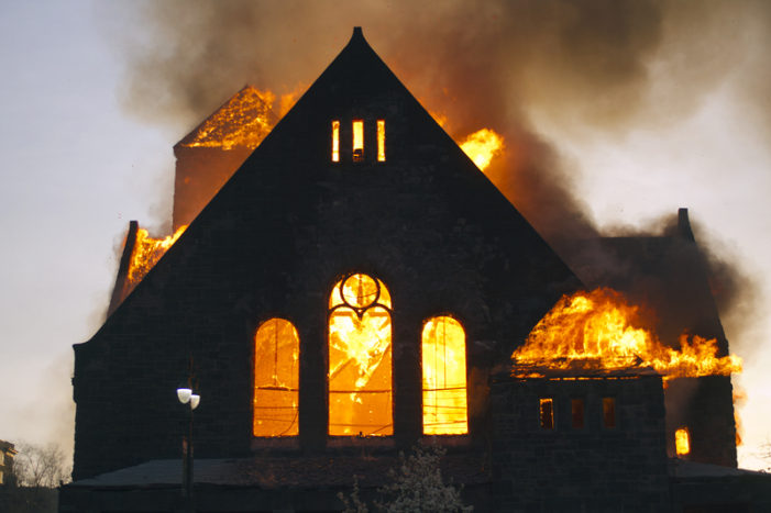 Historic Detroit church ravaged by fire to host final service tonight