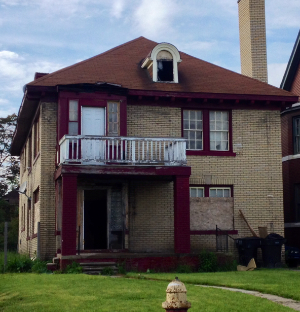 Columnist: Surreal silence falls over fire scene on Detroit's west side