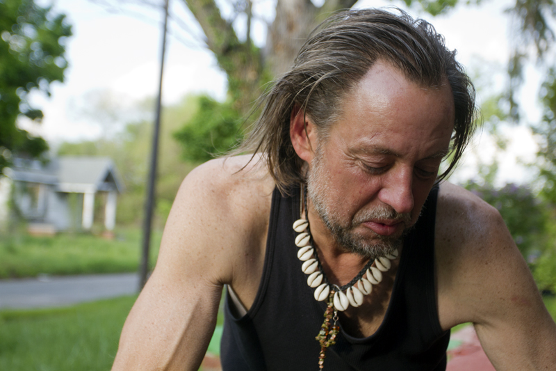 Robert Jurseau lives on at W. Robinwood and Woodward, where an arsonist destroyed more than a dozen homes on one block.