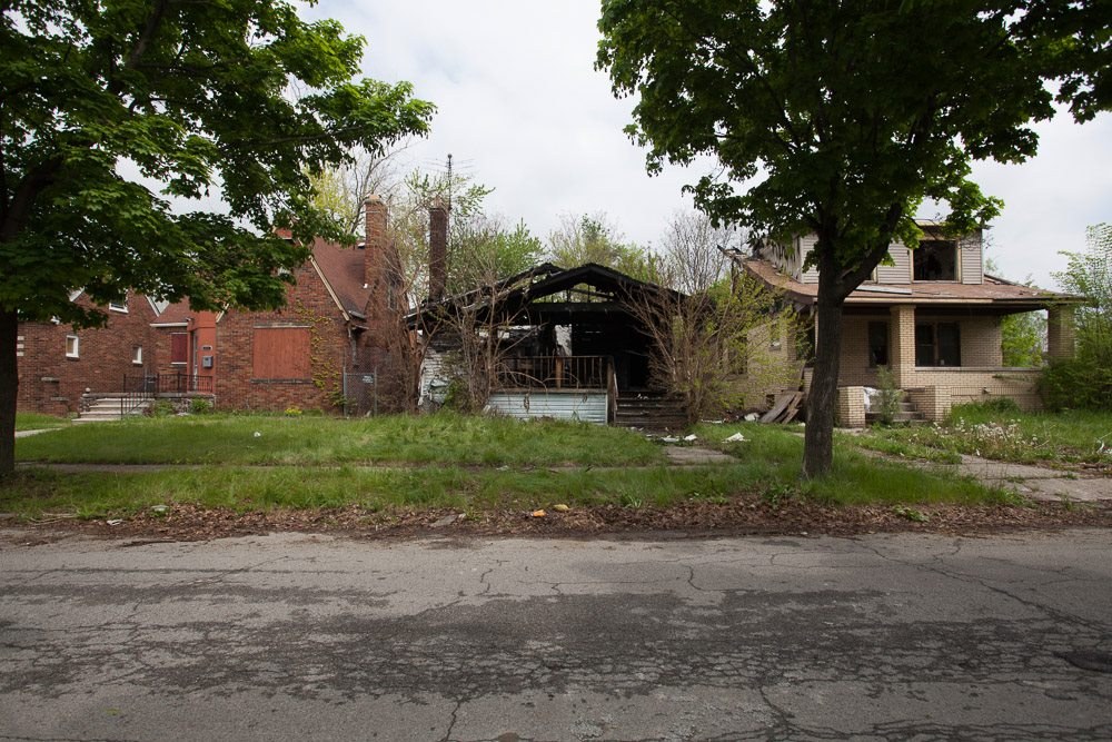 Fire gutted this home on May 20.