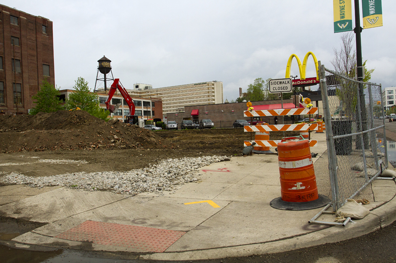 The site of the new LTU design center.