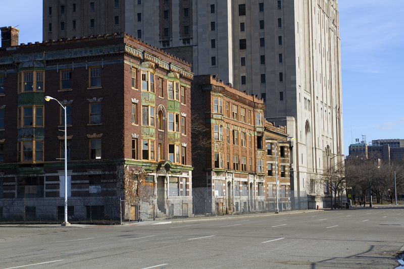 Second Avenue in Detroit. All photos by Steve Neavling