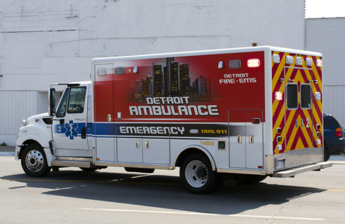 Detroit ambulance stolen, tracked down as police search for suspects