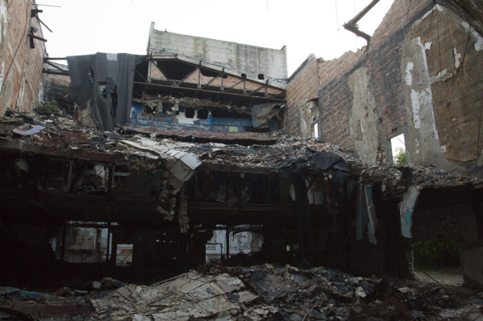 Video: Scrappers have devoured historic Eastown Theatre in Detroit