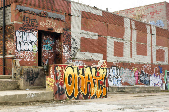 Detroit combats graffiti, dumping & scrapping with tip line, new enforcement
