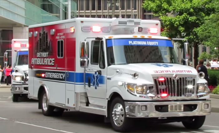 Child dies after paramedics too slow to Detroit accident scene