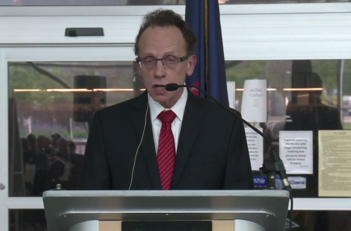 Mayor Fouts is defiant as local, state, federal officials demand he resign