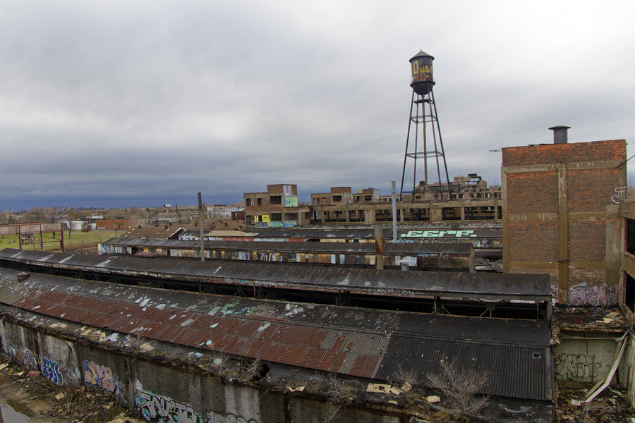 Packard Plant. Photo by Steve Neavling