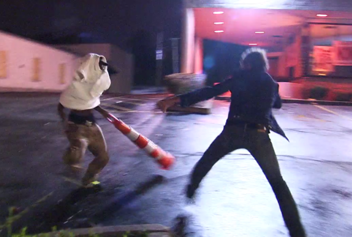 Charlie LeDuff fends off attack in Ferguson to illuminate tensions