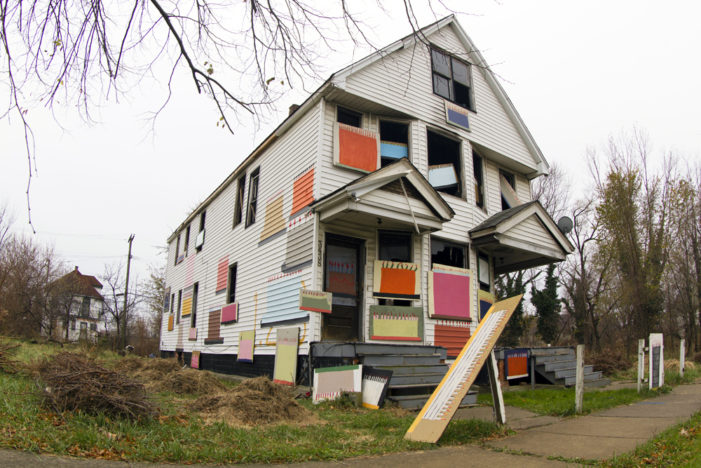 Arsonist strikes another Heidelberg Project house as fundraising continues