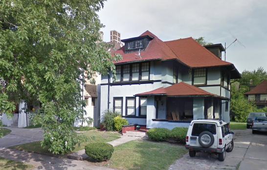 This 6,000-square-foot house at 712 Atkinson is 105 years. Taxes owed: $32,600.