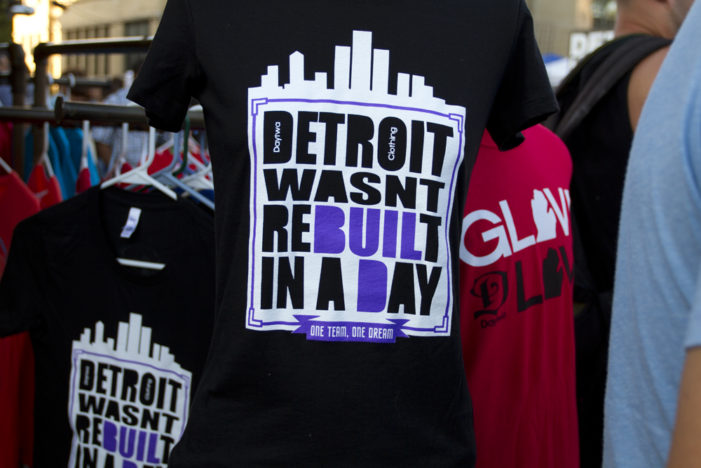 Detroit T-shirts were popular this summer. Here are 35+