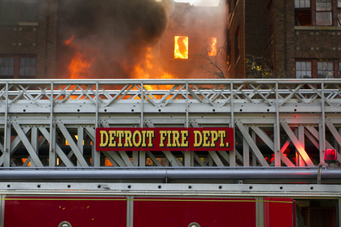 Detroit Fire Department ran out of rigs to respond to emergencies; 3 firefighters injured