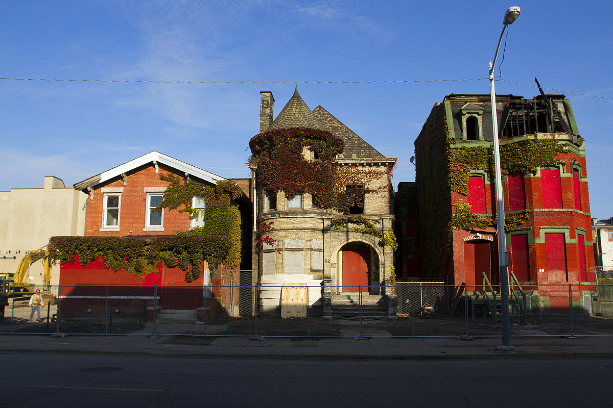 mysterious investor demolishes century old homes to make