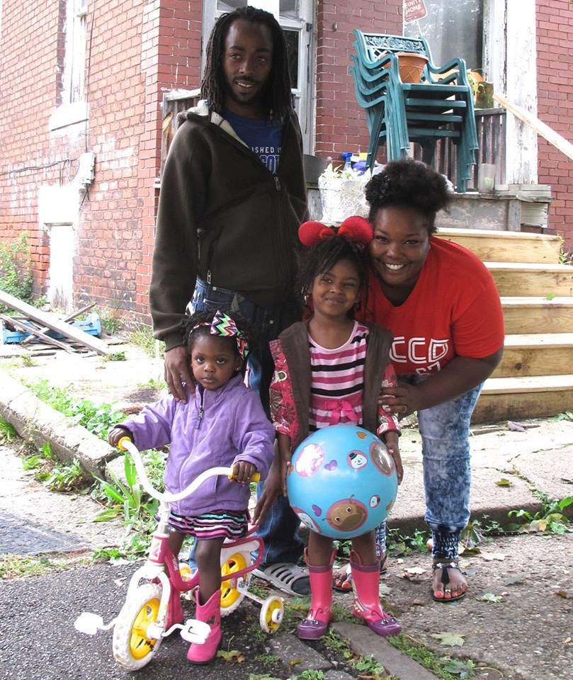 One family in need of help, via Tricycle Collective.