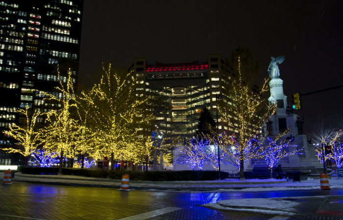 Photos: Downtown Detroit is draped in 350,000+ lights