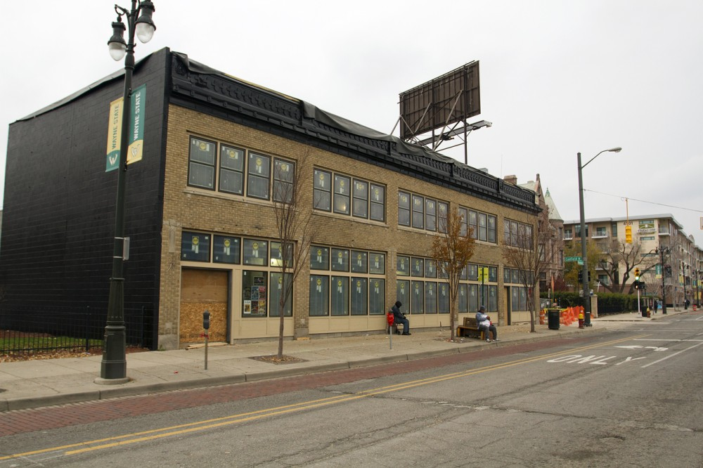 The HopCat building is historic and used to share a block with the Graystone Ballroom.