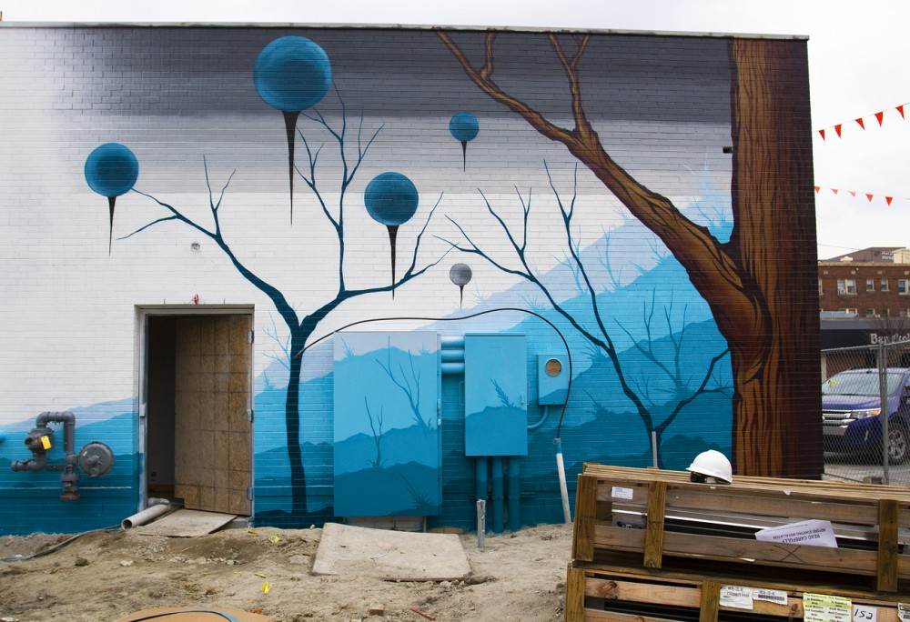 Unfinished mural by Malt.