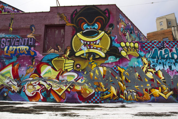 Graffiti 'war' between Sintex, out-of-towners turns ugly in Detroit