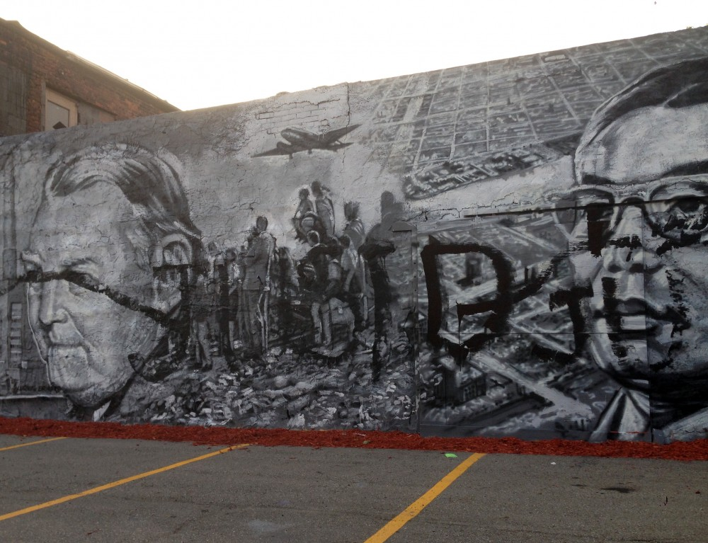 Vincent chin mural
