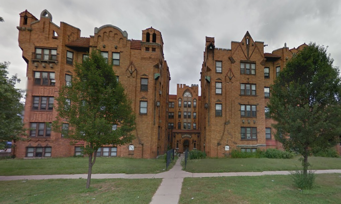 Body found inside burning historic apartment building in Detroit