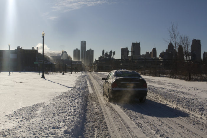 20 photos: Walking downtown following Detroit's historic snowfall