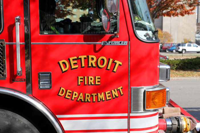 Detroit firefighter, 3 residents injured at second-alarm apartment blaze