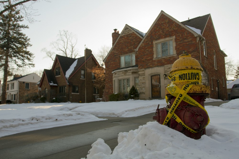 These Rosedale Park homes have no nearby hydrants that work. By Steve Neavling