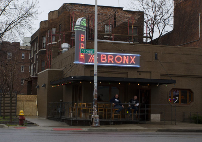 Bronx Bar reopens after lightning strike caused downpour of bricks
