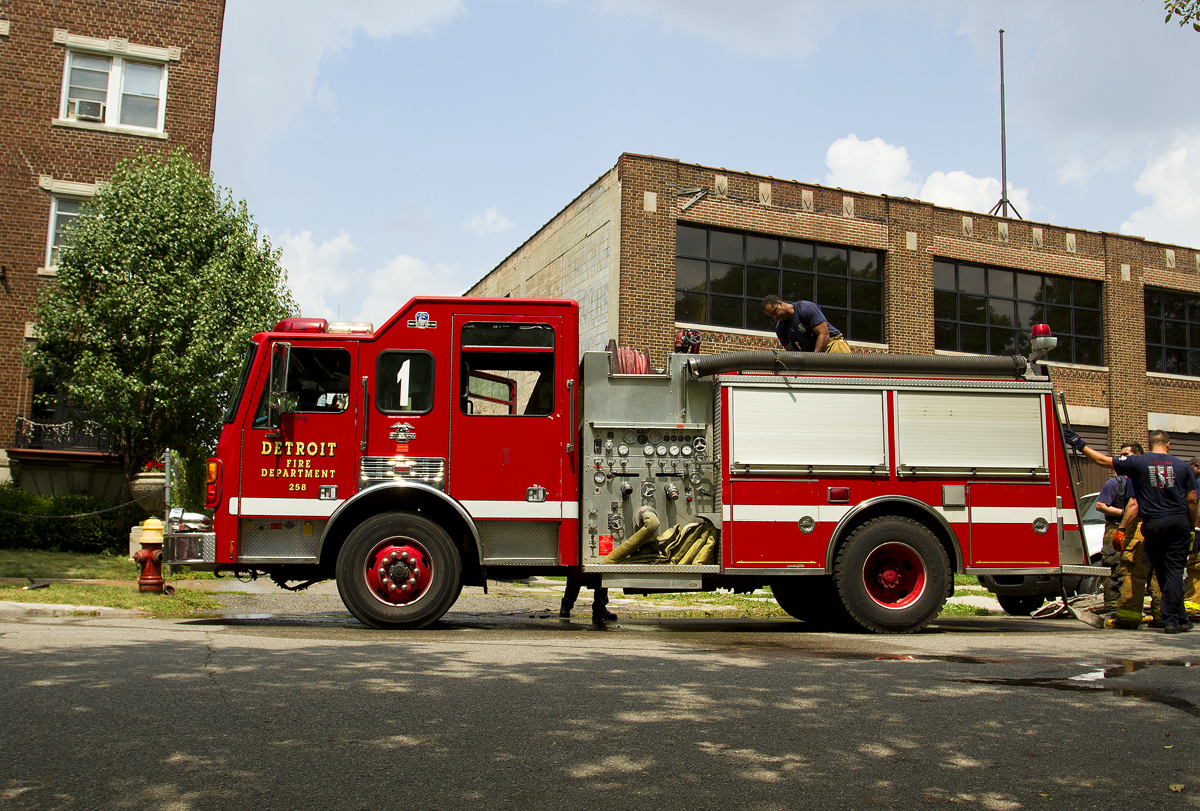 Detroit is beginning to send fire rigs to medical runs to reduce the historically sluggish response times.