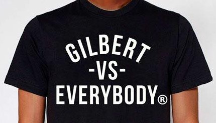 'Gilbert vs. Everybody' T-shirt pokes fun at Quicken Loans founder