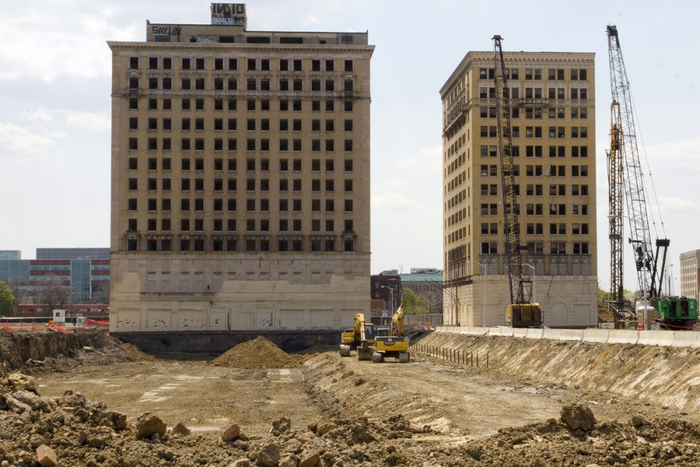 hotel Park Avenue, cass corridor, historic, detroit historic district commission, red wings, arena, hotel