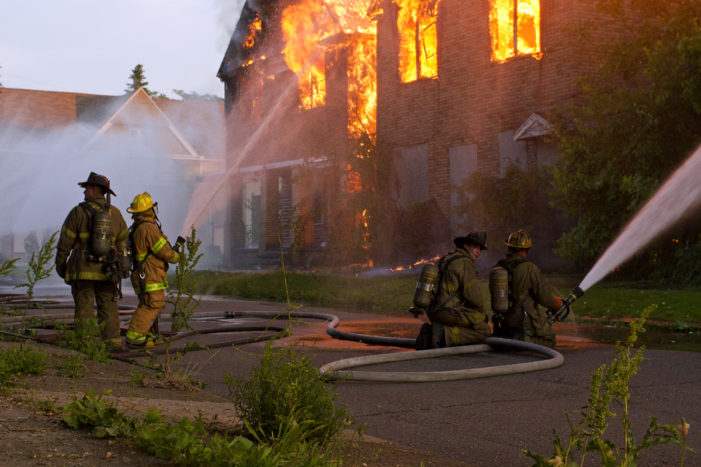 Firefighters vs. photographers: Tensions flare over arsons, First Amendment rights