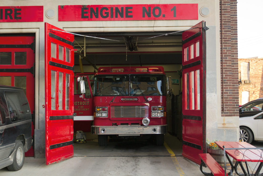 Engine 1, which protects downtown,