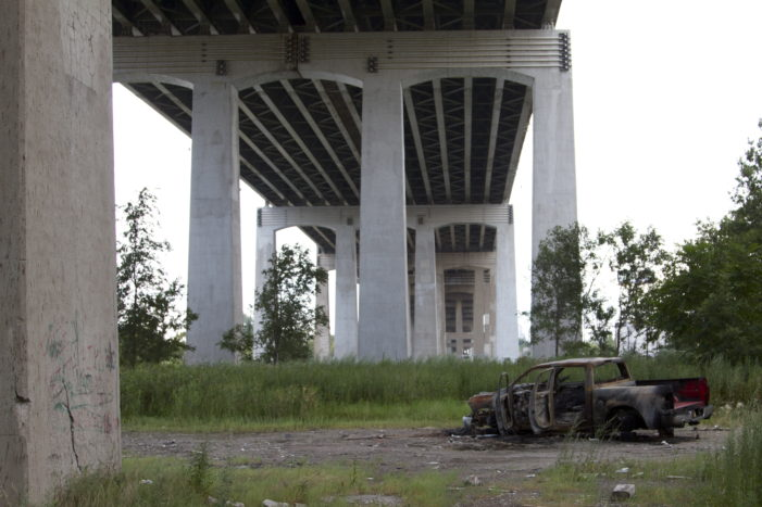 Towering span over Rouge River is falling apart as state crosses fingers