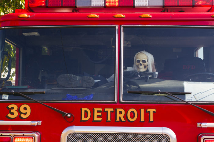 Detroit fire chaser jailed on felony gun charge following 'citizen's arrest'