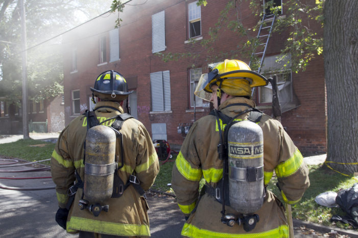 Some firefighters without air bottles after major safety lapse discovered