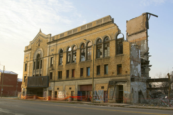 Video: Demo crews raze Eastown Theatre's legendary stage