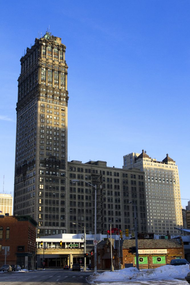 The 38-story Book Tower in downtown Detroit. All photos by Steve Neavling.