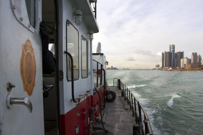 Forgotten treasure: Step aboard Detroit's storied fire boat (photos)