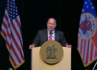 Mayor Duggan delivered his annual State of the City address on Tuesday.