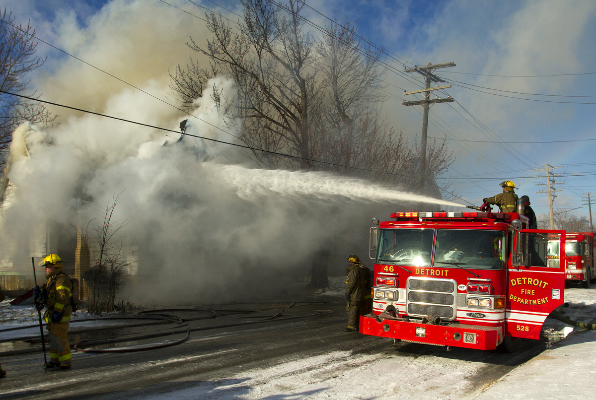 Finally Detroit Fire Department To Buy New Aerial Ladder
