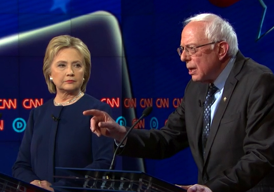 Sanders, Clinton stumble on questions about racial injustices at Flint debate