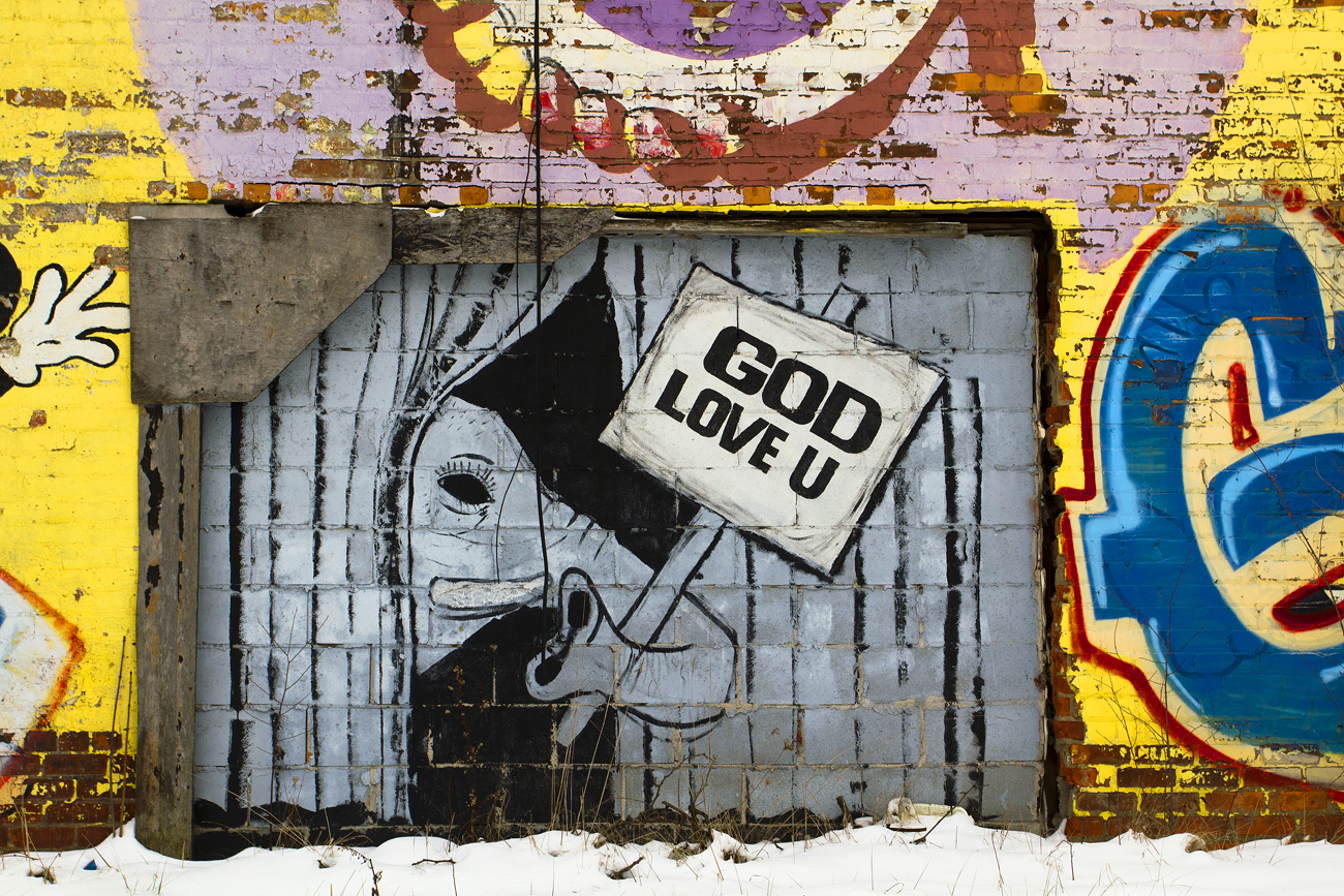 mural god love you_6789