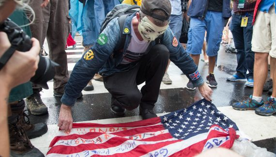 Part 3 or 3: Photos of protesters on final day of DNC in Philly